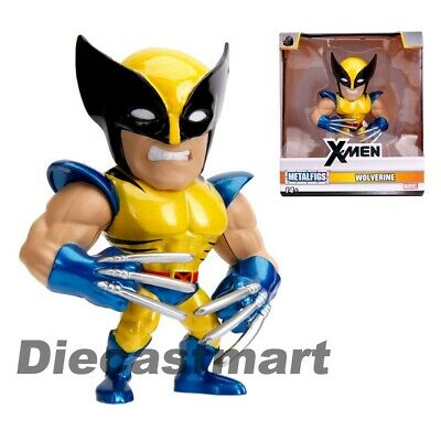 "Jada 4"" MetalFigs X-Men Marvel Movie Wolverine Figure 31264 Metals Diecast New"
