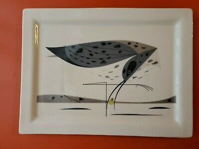 Camtray Fishs Eddy Shore Bird Tray Charley Harper Todd Oldham Hunting Beach CA