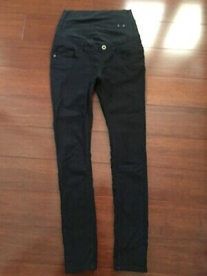 Black Maternity Ladies ASOS Skinny Jeans Size S 10