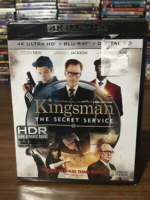 Kingsman: The Secret Service 4K Ultra HD + Blu-Ray + Digital HD, New Sealed