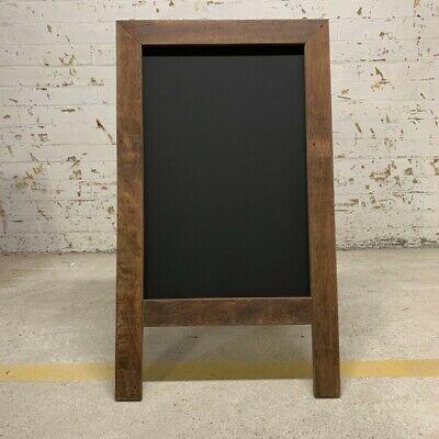 Rustic A-Frame Chalkboard, Rustic Blackboard, Sandwich Menu Board, Pavement Sign