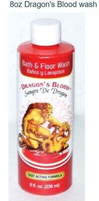 Dragons Blood Wash for Protection, Success Voodoo Hoodoo Santeria Marie Laveau
