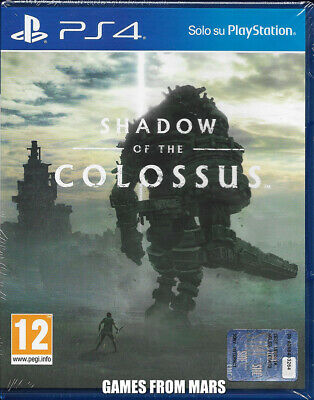 Shadow Of The Colossus Ps4 Nuovo Italiano