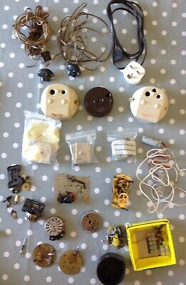 Vintage Electric Clock Movement Parts From Specialist Electric Clock Collector