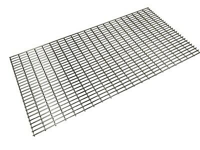 Heavy Duty 7mm Stainless Steel Large BBQ Cooking Grill Grate - 120cm x 60cm
