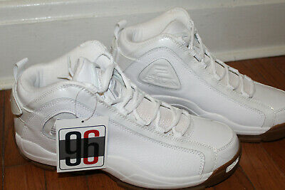 FILA 96 GRANT Hill Quilted White Gum Leather Shoes Size 14