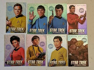 Dave and Buster's Star Trek LIMITED EDITION Coin Pusher Cards Full Set Tribbles