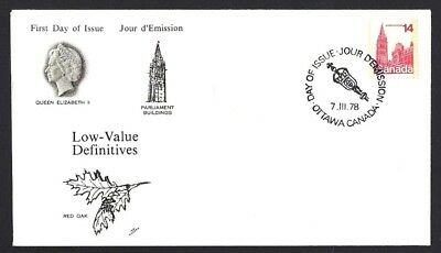 Canada  # 715     NR Cover  Parliament Buildings     New 1978 Unaddressed