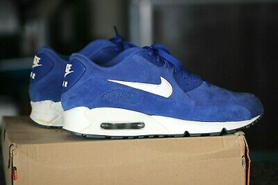 Nike Air Max Essential Hyperblue Suede Men's Running Shoe Size 10.5 VNDS
