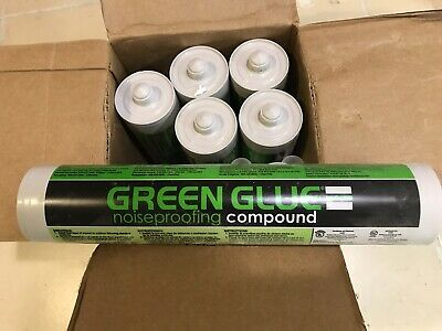Applicator Gun 32oz Green Glue Noiseproofing Compound Adhesive Guns & Dispensers