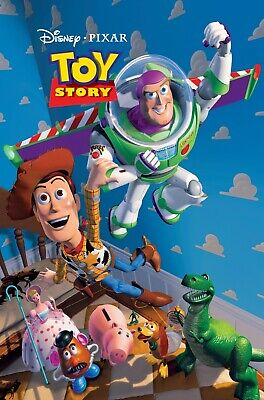 Toy Story movie poster print  : 11 x 17 inches : Walt Disney (style a)