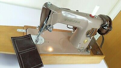 Semi-Industrial Singer 201K Elect Sewing Machine,SERVICED, PAT test,sews Leather