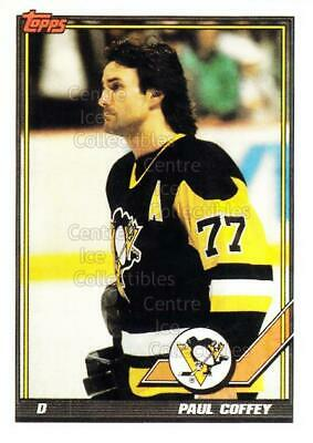 1991-92 Pittsburgh Penguins Foodland Stickers #2 Paul Coffey