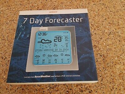 AMBIENT WEATHER WS-2801-X2 Advanced Wireless Color Forecast Station