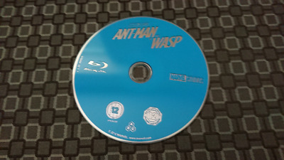 Ant-Man and the Wasp DISC only REGION FREE