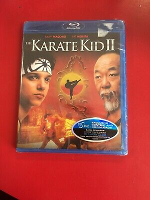 The Karate Kid Part 2 (Blu-ray Disc, 2010) BRAND NEW SEALED L@@K