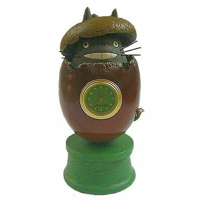 From the My Neighbor Totoro diorama table clock acorn japan