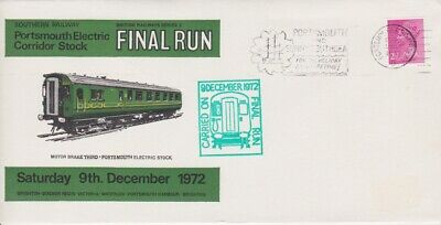 STAMPS STEAM RAILWAY SOUVENIR / FIRST DAY COVER FROM RARE COLLECTION No 053