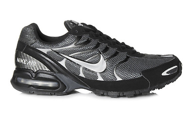 New! Nike Air Max Torch 4 Black Silver Gray Mens Running Shoes s1
