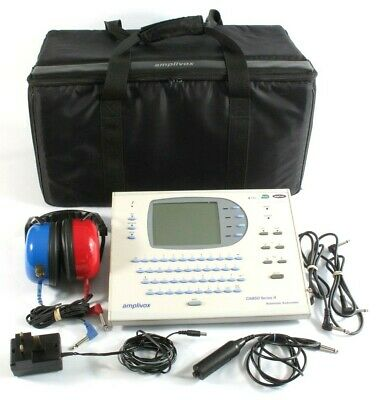 Amplivox Ca850 Series 4 Automatic Audiometer Portable Audiology Tester