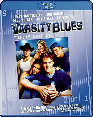 Varsity Blues (Blu-ray) (Deluxe Edition) (Widescreen) MTV FILMS, OOP, HTF, RARE