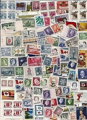 vintage MINT MNH UNUSED FULL GUM CANADA Canadian postage stamps lot C61K