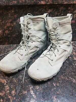 b50a974967f UNDER ARMOUR ALEGENT Mens Tactical Boots Desert Sand Military Size 9 ...