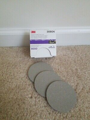 3M Trizact #30804 P8000 Grit 3in.(3 SHEETS)