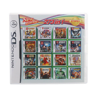 Nintendo NDS 273 in 1 Video Game Cartridge Console Card For DS English/Multi