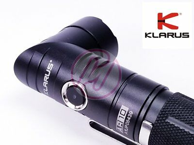Klarus AR10 Cree LED USB Rechargeable Magnetic Tail Angled Flashlight+Battery