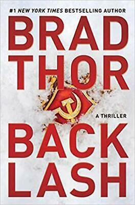 Backlash: A Thriller by Brad Thor HARDCOVER 2019