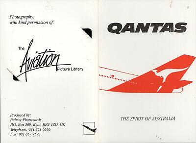 Ltd Ed. only 1500 issued - QANTAS BOEING 747 PHONECARD