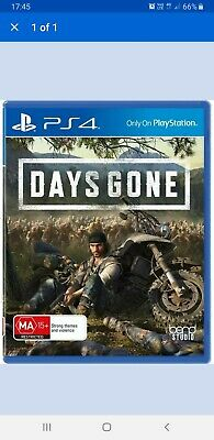 Days Gone PS4 Playstation 4 2019