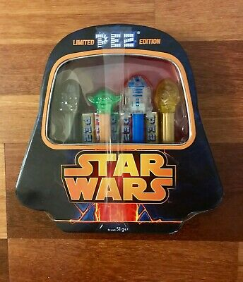 Star Wars Millennium Falcon Pez Limited Edition Gift Set Collectible Tin NEW !