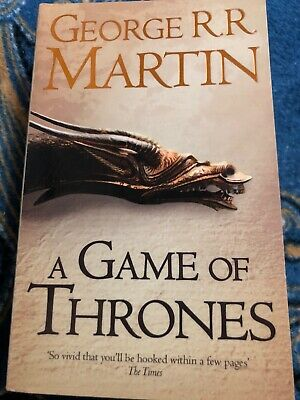 A Game of Thrones: Book 1 of a Song of Ice and Fire by George R.R. Martin (NEW)