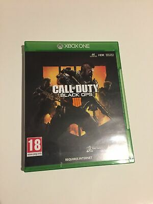 Call Of Duty Black Ops IIII (4) For Microsoft Xbox One COD BO 4