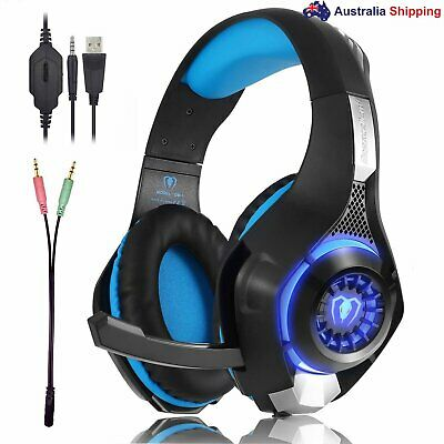 Gaming Headset Bass Headphone for Playstation PS4 Xbox One PC Game iPhone Laptop