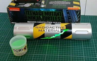 TMNT teenage mutant ninja turtles mutagen canister prop replica TCRI Neca