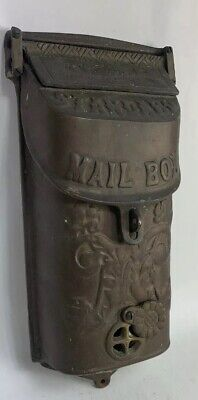 Antique Standard Cast Brass Mailbox Vintage Nice Ships Today Everyday Fast!!