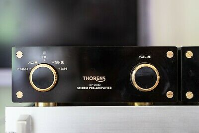 THORENS TTP-2000 TTA 2000 TOP STEREO PREAMPLIFIER and Amplifier