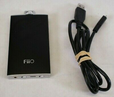 FiiO Q1 Portable DAC and Headphone Amplifier - Black