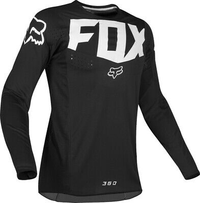 2019 Fox KILA 360 Motocross MX Race Off Road Jersey BLACK Adults