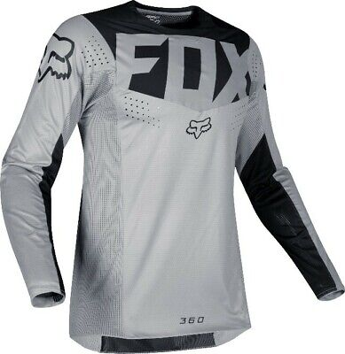 2019 Fox KILA 360 Motocross MX Race Off Road Jersey GREY Adults
