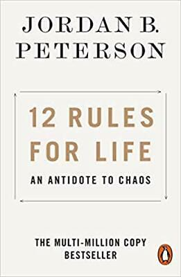 12 Rules for Life by Jordan B. Peterson PAPERBACK 2019