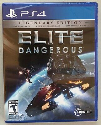ELITE DANGEROUS: LEGENDARY Edition PS4 [Factory Refurbished