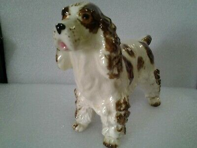 Vintage Springer Spaniel dog figurine