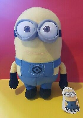 "Dave The Minion 11"" Soft Plush Toy Minions Despicable Me 2 With Tags"