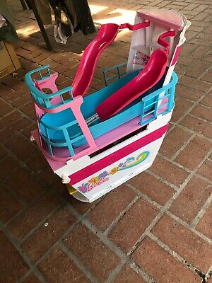 2011 Barbie Mattel Pink Passport Cruise Ship - FOR PARTS NOT COMPLETE