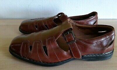 SOLIVER SELECTIOAN Herrenschuhe Leder Braun, Gr.44, TOP