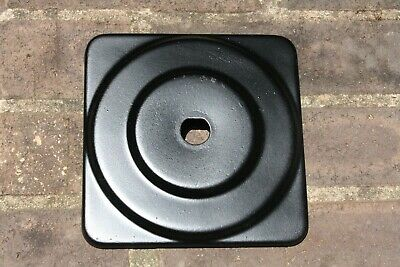 Original 1950s Victor Gumball Machine Square Top Lid * Fresh Satin Black Paint